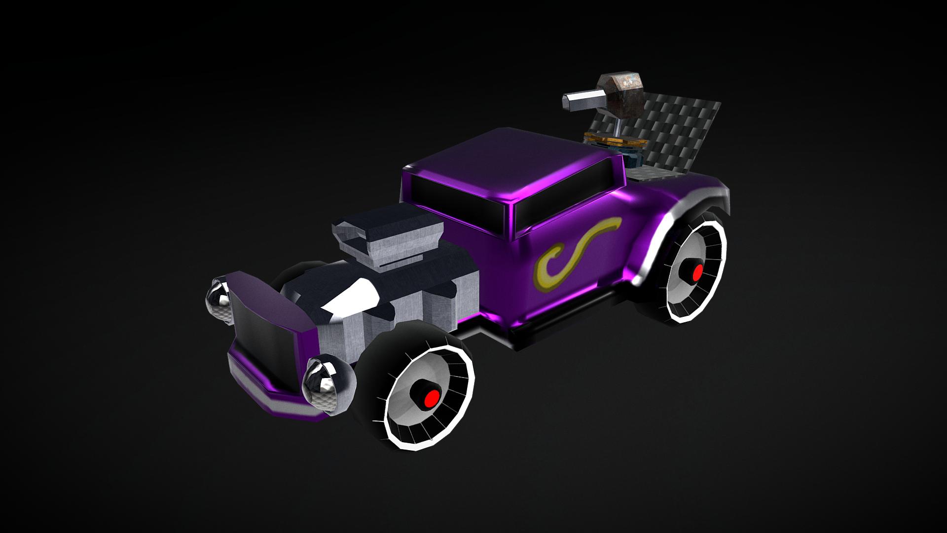 Gothic toy car