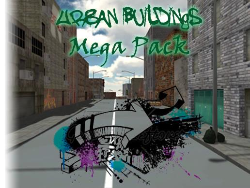 Urban Buildings Mega Pack