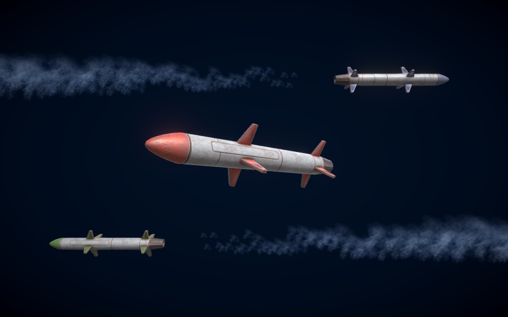 PBR Guided Missile
