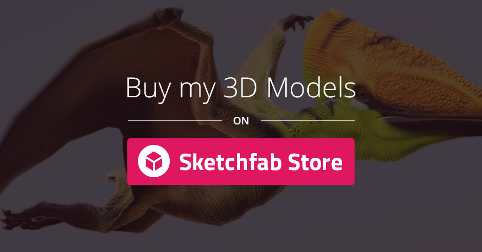 Sketchfab Store (Weapons & Props)