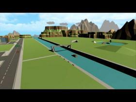 Speed Level - Low Poly Urban Park