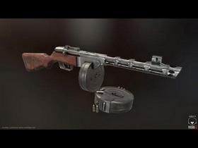 PPSH submachine gun