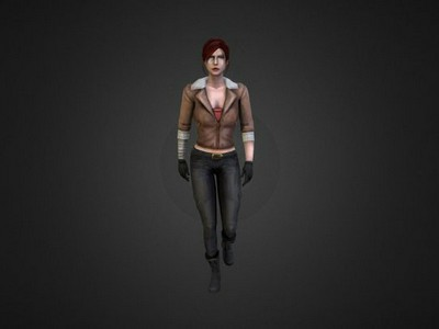 Female Character Walking