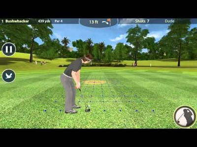 Inter-Course Golf 3D Gameplay