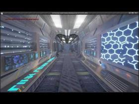Sci-Fi Hallway