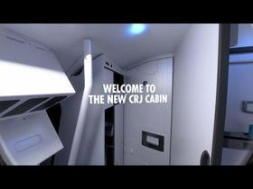 Bombardier CRJ New Cabin