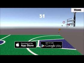 Mobile Basketball Game