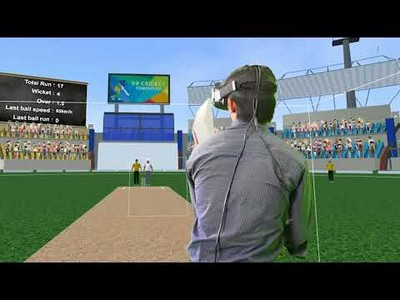 VR Cricket Powerplay (HTC Vive)