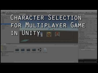 Tutorials in multiplayer character selection