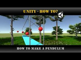 Unity [How to] How to make a Pendulum