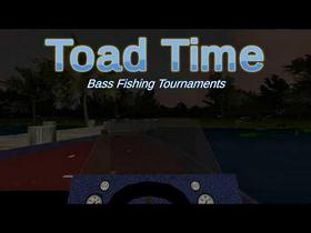 Toad Time Bass Fishing Game