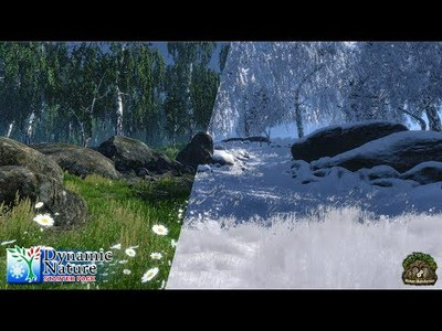 Dynamic Nature - Models, Shaders, Textures, System