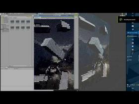 Unity 2.5D Ascii Art Renderer
