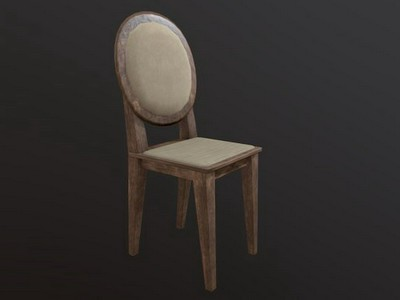 Chair low poly