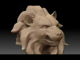 Lion Bust Tessellation