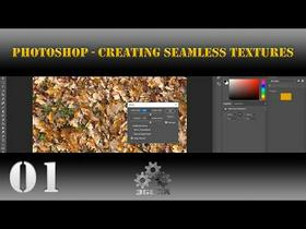 Photoshop [Game Art] Creating Seamless Textures