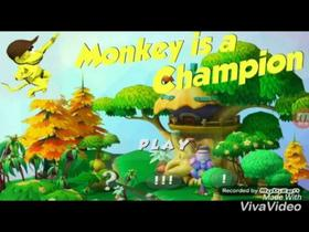 Monkey is a champion