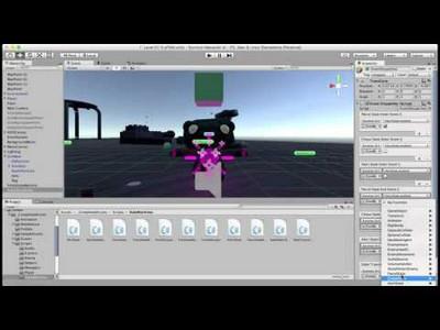 Mecanim as Finite State Machine for AI - Unity 5