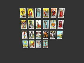 3D Models - Tarot Cards