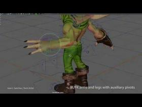 MayaLT Character Rig/Utility