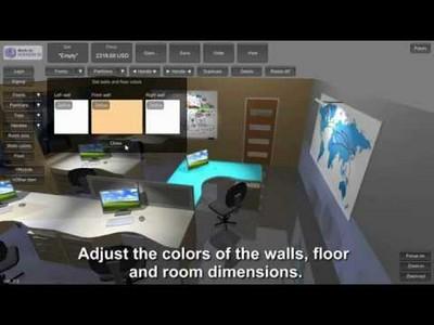 Office furniture configurator