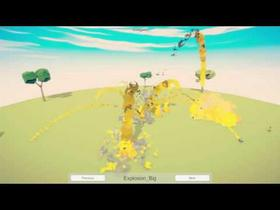 Particle effects demo