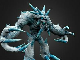 Epic Ice Elemental Creature