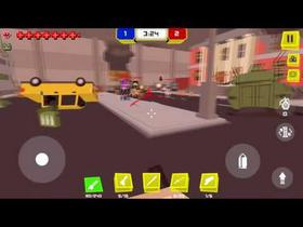 Pixel Fury: Multiplayer FPS