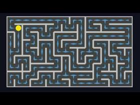 Visual procedural maze generator and A* pathfinding