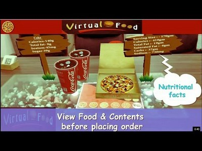 Augmented Reality App For Your Restaurant Business