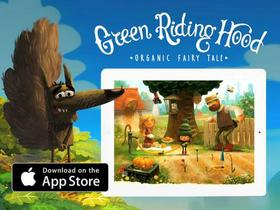 """Animation for """"Green Riding Hood"""", Interactive Book for IPad"""