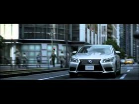 Works Zebra: Lexus LS