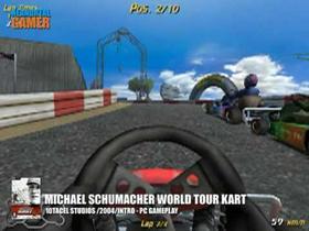 Michael Schumacher Racing World kart 2004