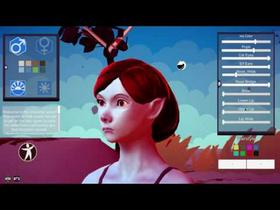 3D Stylized Character Editor
