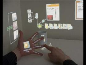 The 7th Sense : Mixed Reality UI [2009]
