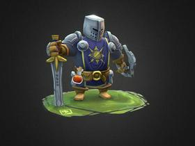 Handpainted Knight