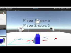 VR multiplayer mini games