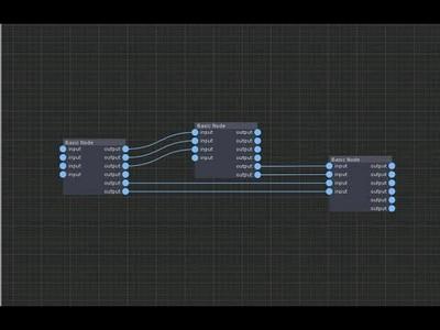 Unity Node Editor Base