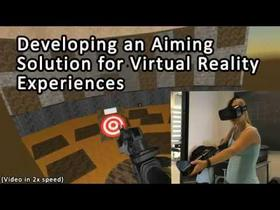 Aiming in Virtual Reality