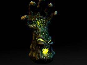 Hand of Doom 3D Model