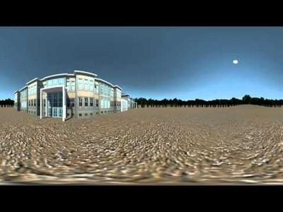 Panoramic Rendering Test