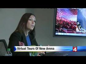 Virtual Tour of Detroit Redwings new Little Caesars Arena