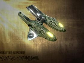 Star Valor : Ship Concept 2 D (Sold)