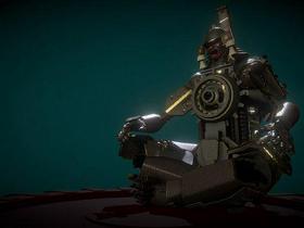 SMR-709 Samurai Robot