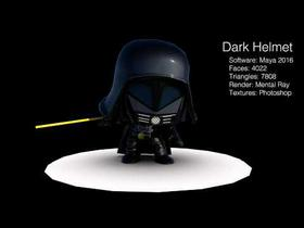 Dark Helmet - Spaceballs the movie