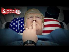 Surgeon Simulator Inside Donald Trump