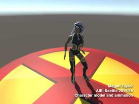Superhero Character Model